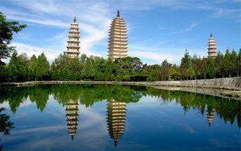 【大理古城】(不含景区大门票)大理崇圣寺三塔地图定位自动中文讲解-美团