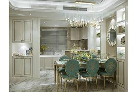 120平米三室两厅美式风格厨房图片大全