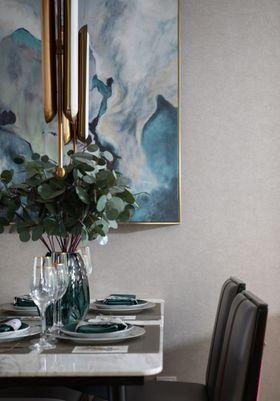 80平米公寓现代简约风格餐厅装修案例