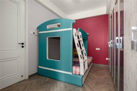 100平米三室两厅现代简约风格儿童房欣赏图
