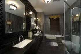 富裕型140平米四室两厅中式风格卫生间装修图片大全