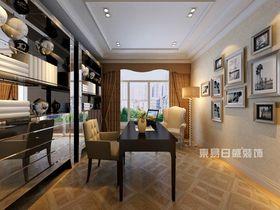 140平米四室两厅新古典风格书房装修图片大全
