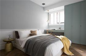 100平米三室一廳現代簡約風格臥室圖片大全