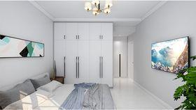 110平米三室一厅北欧风格卧室装修效果图