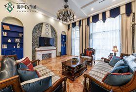 140平米别墅地中海风格客厅效果图