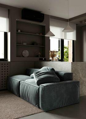 70平米一室一厅北欧风格卫生间效果图