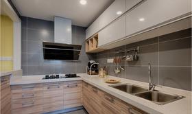 110平米三北欧风格厨房装修效果图