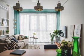 70平米一室一厅北欧风格客厅装修图片大全