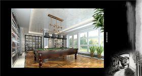 豪华型140平米别墅欧式风格影音室装修案例