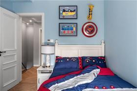 140平米复式美式风格儿童房图