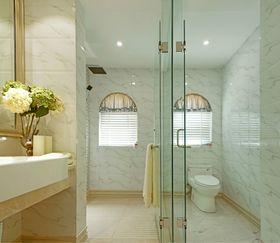 140平米三室两厅英伦风格卫生间图片大全