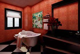 80平米混搭风格卫生间家具装修案例