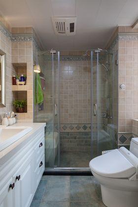 10-15万100平米三室两厅美式风格卫生间图片