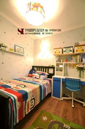 5-10萬80平米三室兩廳美式風格兒童房圖
