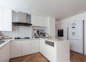 80平米现代简约风格厨房效果图