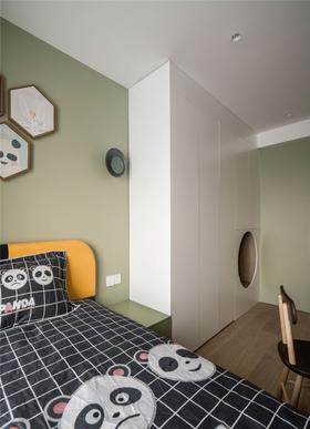100平米三室两厅混搭风格儿童房图