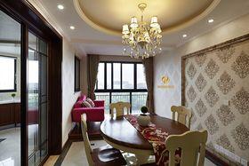 经济型110平米三室两厅混搭风格餐厅图