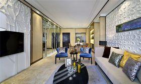 10-15万70平米现代简约风格客厅装修图片大全