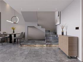 90平米現代簡約風格樓梯間圖片