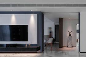 120平米三室两厅北欧风格客厅图