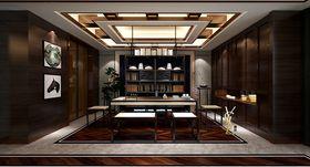 140平米別墅中式風格書房裝修案例