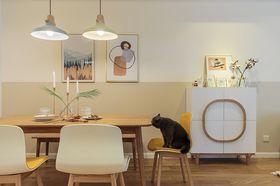 60平米日式风格客厅效果图