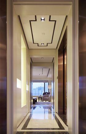 120平米三室一厅中式风格走廊设计图