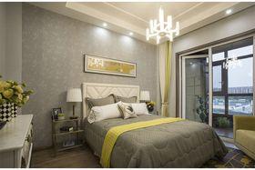 120平米三室两厅现代简约风格卧室图片