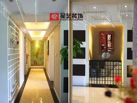 富裕型140平米三室两厅现代简约风格走廊设计图