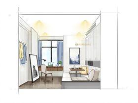 70平米现代简约风格储藏室装修效果图