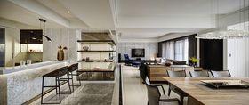 110平米三现代简约风格客厅效果图