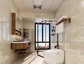 100平米三中式风格卫生间设计图