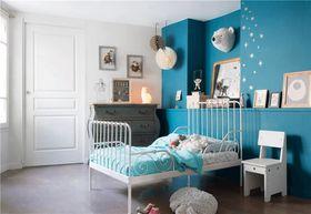 90平米复式北欧风格卧室设计图