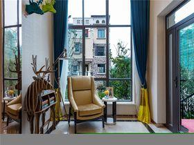 120平米三现代简约风格阳光房欣赏图