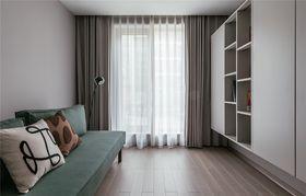 140平米四室一廳現代簡約風格陽臺圖片