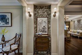130平米三室一廳美式風格玄關裝修案例
