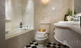 10-15万130平米三室两厅欧式风格卫生间图