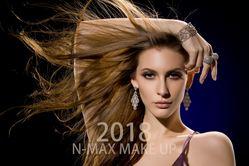 N-MAX MAKEUP美发美睫彩妆化妆造型馆的图片