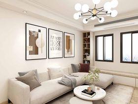 100平米三現代簡約風格客廳圖片