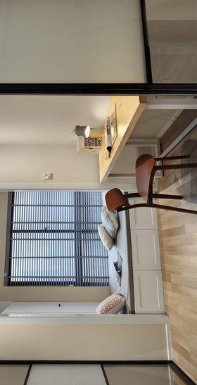 80平米三室两厅北欧风格阳光房装修图片大全
