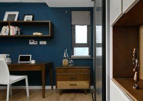 120平米四室两厅现代简约风格书房装修图片大全