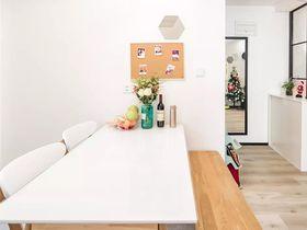 110平米三室一厅混搭风格餐厅设计图