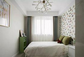 140平米三室一厅现代简约风格儿童房装修效果图