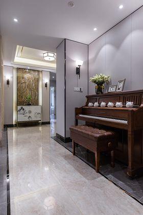 130平米三室两厅中式风格玄关图片