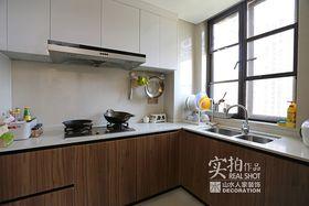 90平米三室两厅中式风格厨房装修案例
