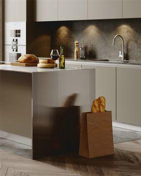 140平米四室两厅北欧风格厨房图片