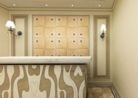 120平米三室两厅欧式风格阳光房设计图