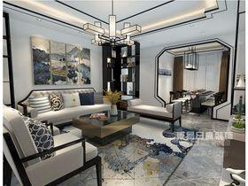 140平米四中式風格客廳圖