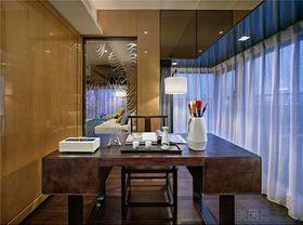 80平米中式风格书房装修案例