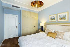 经济型90平米三室一厅美式风格卧室装修效果图